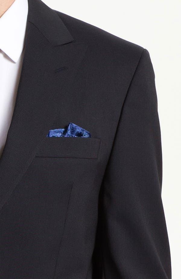 Alternate Image 6  - Sand Trim Fit Wool Blend Suit