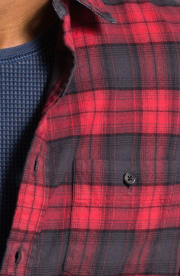Alternate Image 3  - Wallin & Bros. Plaid Flannel Shirt