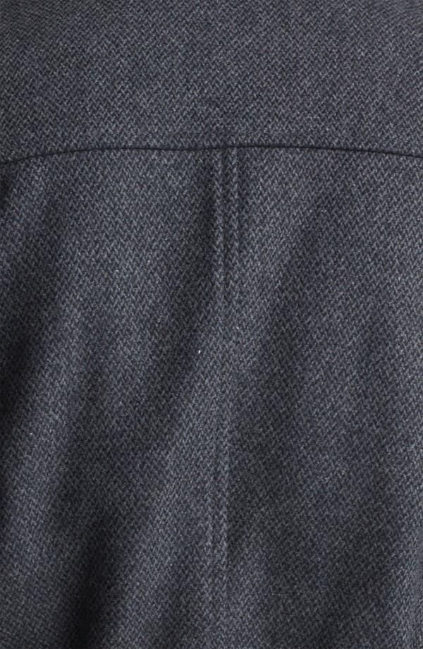 Alternate Image 3  - Topman Wool Blend Trench Coat
