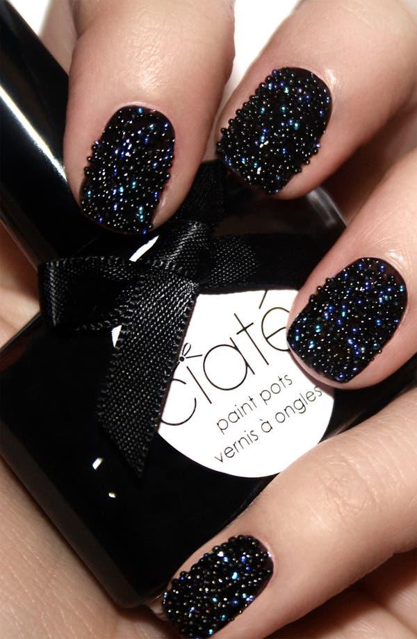 Alternate Image 2  - Ciaté 'Caviar Manicure™ - Black Pearls' Set