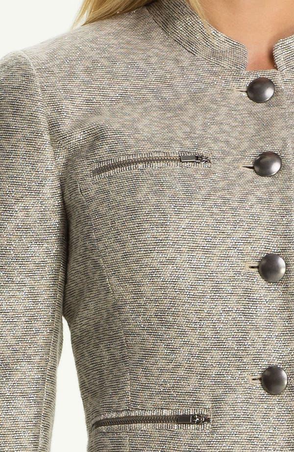 Alternate Image 3  - Classiques Entier® Metallic Weave Jacket