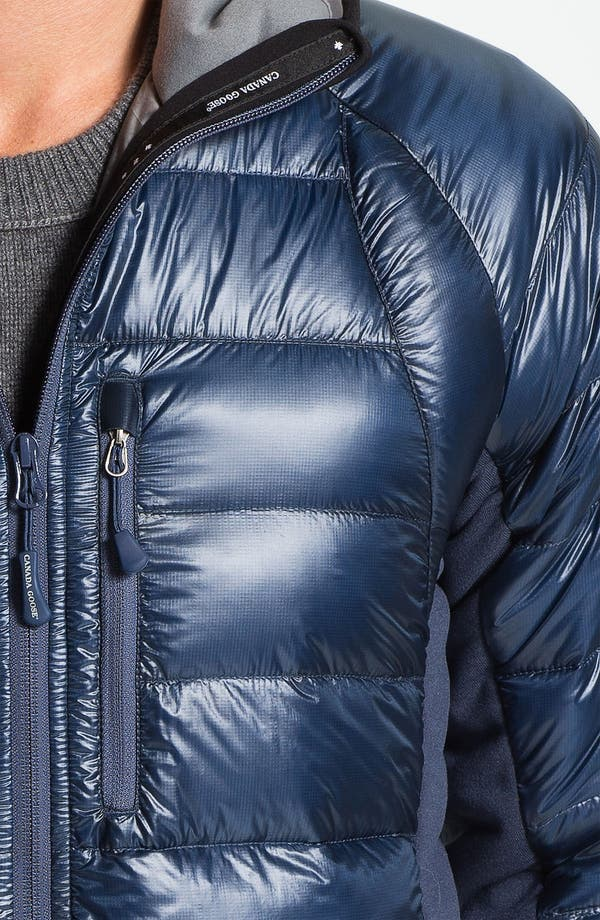 Alternate Image 3  - Canada Goose 'Hybridge' Quilted Goose Down Hooded Jacket