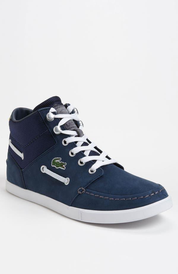 Alternate Image 1 Selected - Lacoste 'Crosier Sail Mid' Sneaker