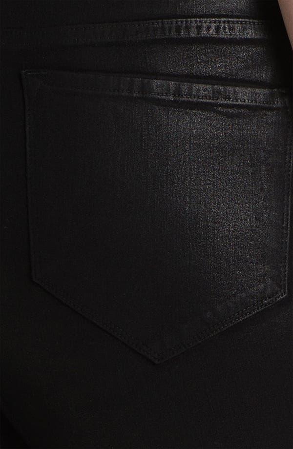 Alternate Image 3  - NYDJ 'Marilyn' Coated Bootcut Jeans (Plus)