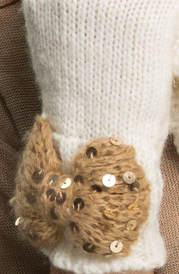 Alternate Image 2  - Betsey Johnson 'Bow Nanza' Fingerless Gloves