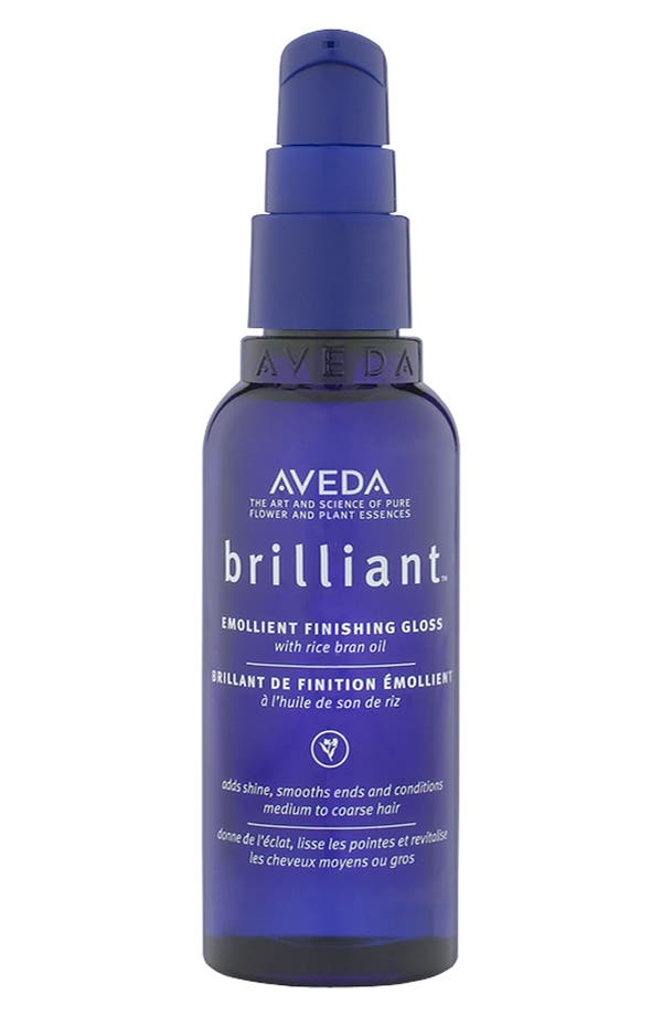 Alternate Image 1 Selected - Aveda 'brilliant™' Emollient Finishing Gloss