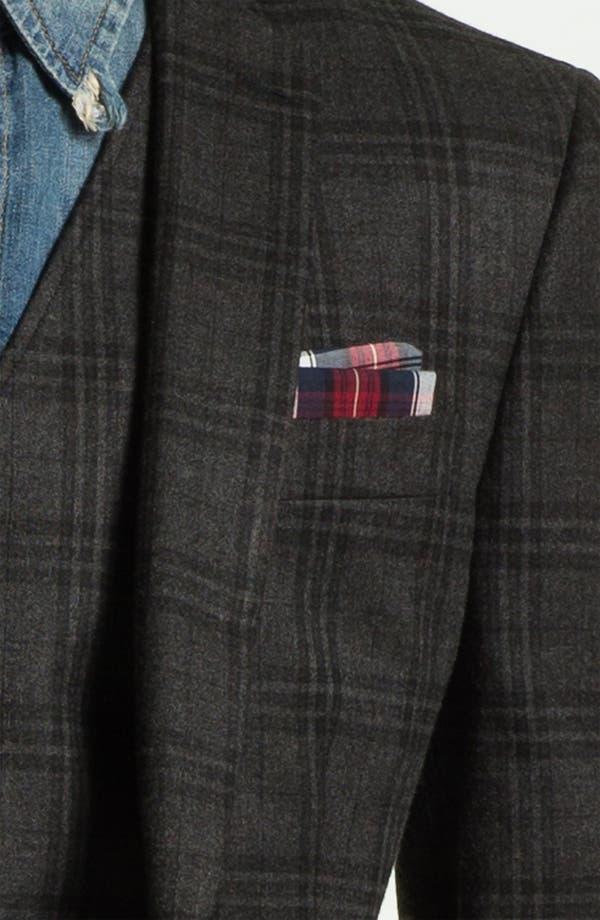 Alternate Image 3  - John Varvatos Star USA Red Label Plaid Blazer