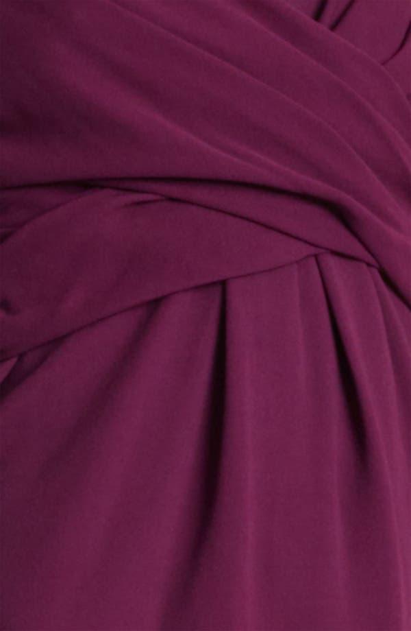 Alternate Image 3  - Burberry London Twisted Waist Crepe Dress