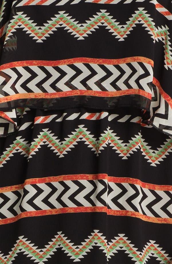 Alternate Image 3  - dee elle Tribal Print Maxi Dress (Juniors)