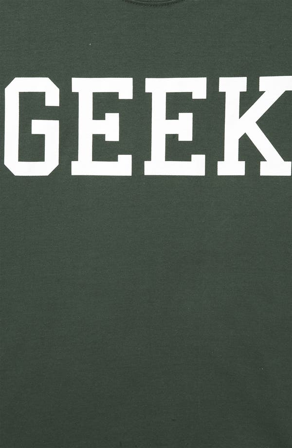Alternate Image 3  - Topshop 'Geek' Graphic Tee (Petite)