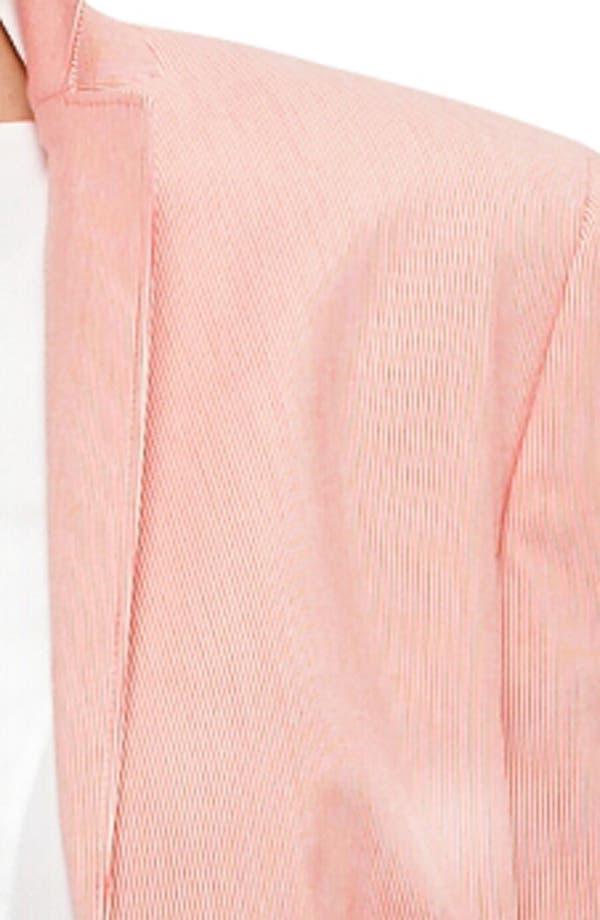 Alternate Image 2  - Akris punto Microstripe Two Button Jacket