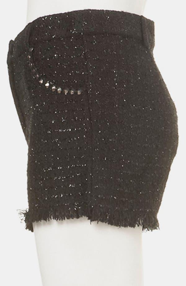 Alternate Image 4  - Topshop Studded Bouclé Shorts