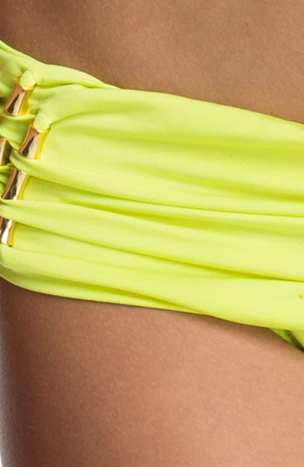 Alternate Image 3  - Trina Turk Sash Waistband Hipster Bikini Bottoms