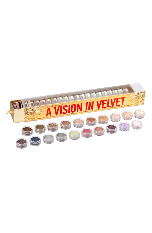 Alternate Image 1 Selected - bareMinerals® 'A Vision in Velvet' Eyecolor Collection ($220 Value)