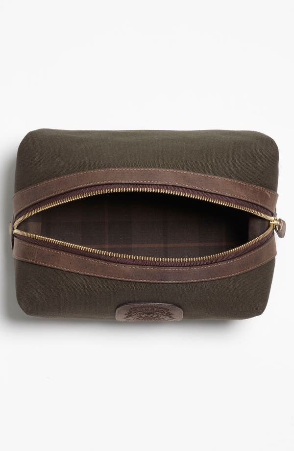 Alternate Image 3  - Ghurka 'Holdall' Cotton Canvas Grooming Case