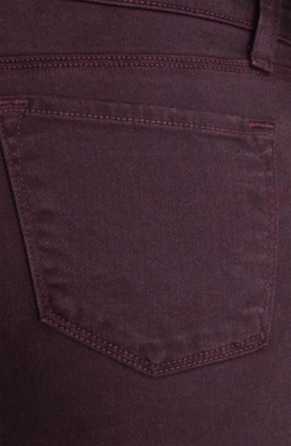 Alternate Image 3  - J Brand Overdyed Skinny Leg Jeans