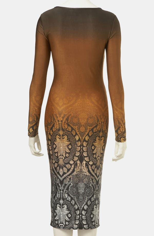 Alternate Image 2  - Topshop Ombré Print Body-Con Dress