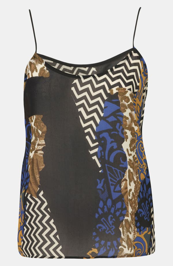 Alternate Image 1 Selected - Topshop Tile Print Camisole