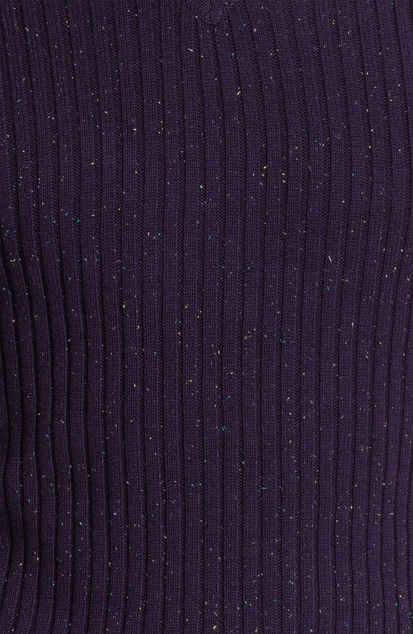 Alternate Image 3  - Robert Graham 'Mir' Ribbed V-Neck Sweater
