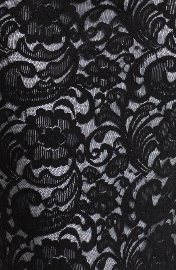 Alternate Image 3  - Xscape Back Cutout Lace Column Gown