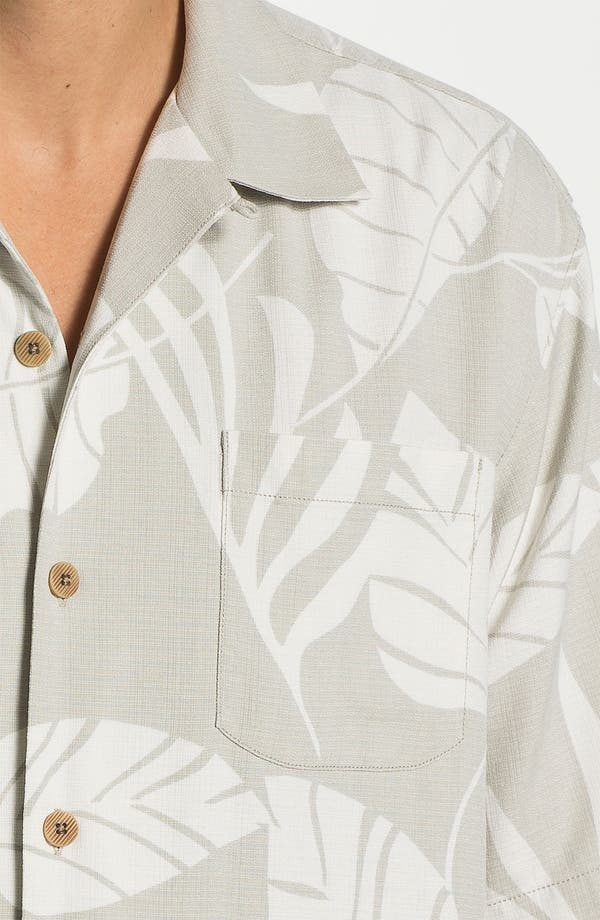 Alternate Image 3  - Tommy Bahama 'Tommy from the Block' Silk Campshirt