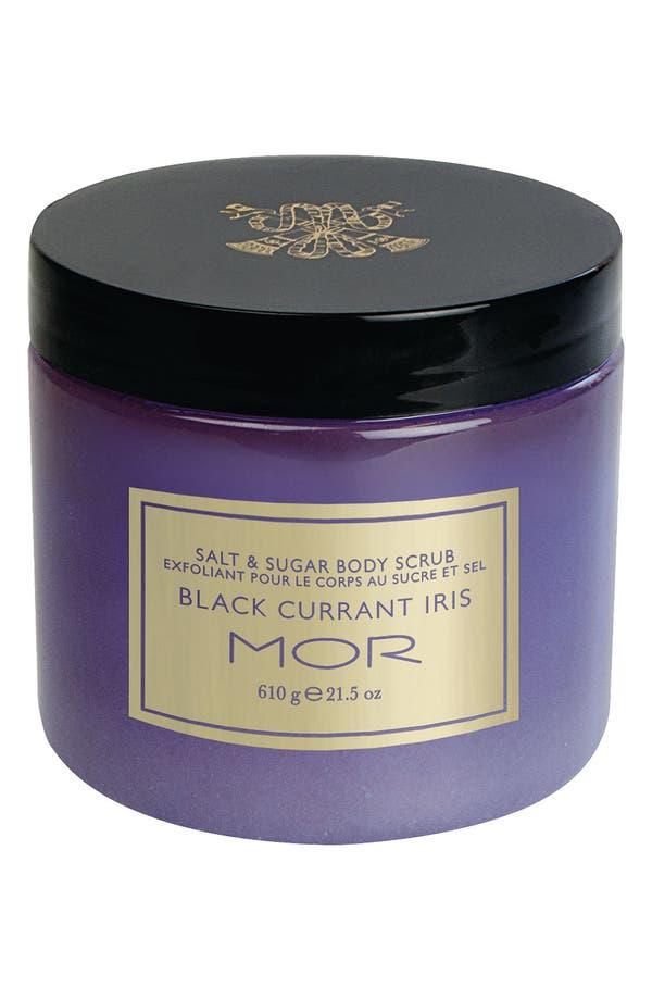 Main Image - MOR 'Black Currant Iris' Salt & Sugar Body Scrub