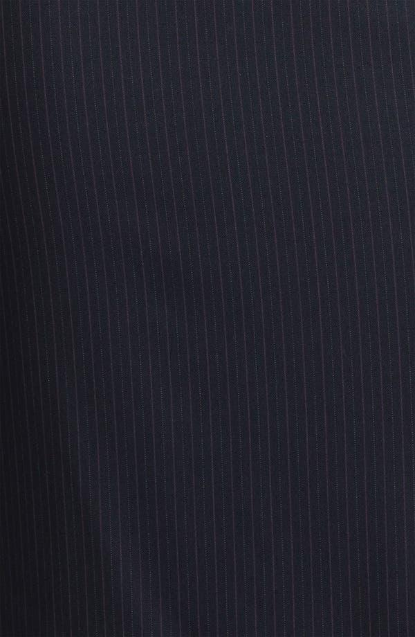 Alternate Image 3  - Santorelli 'Maria' Stripe Wool Skirt