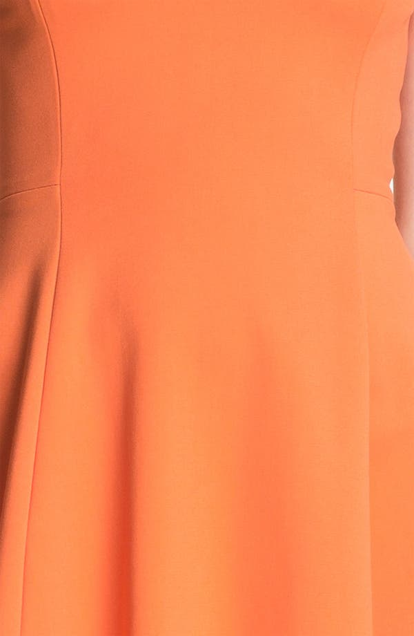 Alternate Image 3  - Halston Heritage Crisscross Neck Ponte Dress