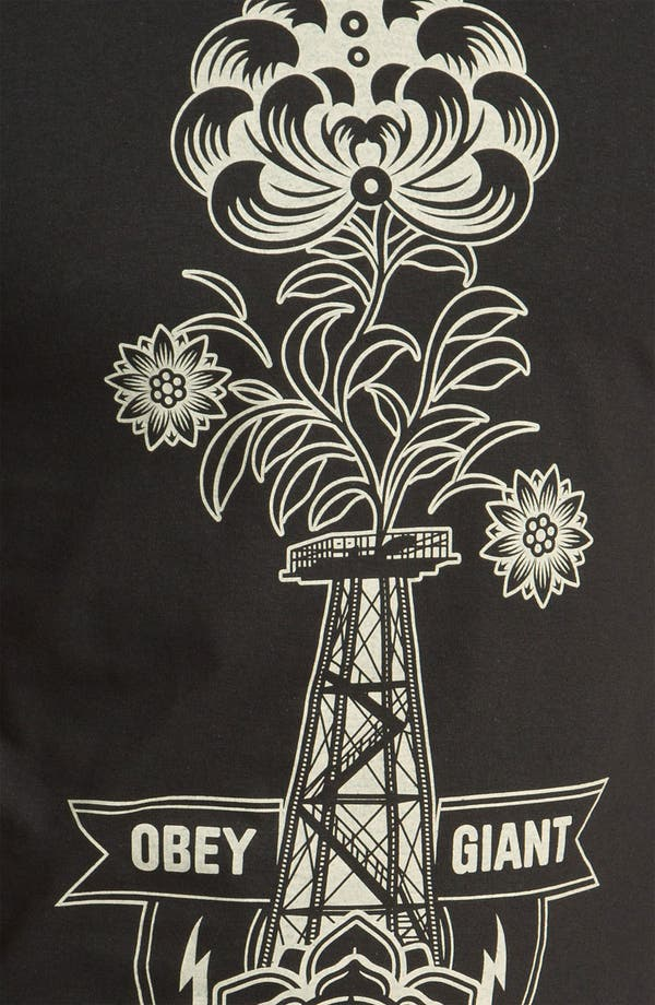 Alternate Image 3  - Obey 'Oil Rig' Graphic T-Shirt