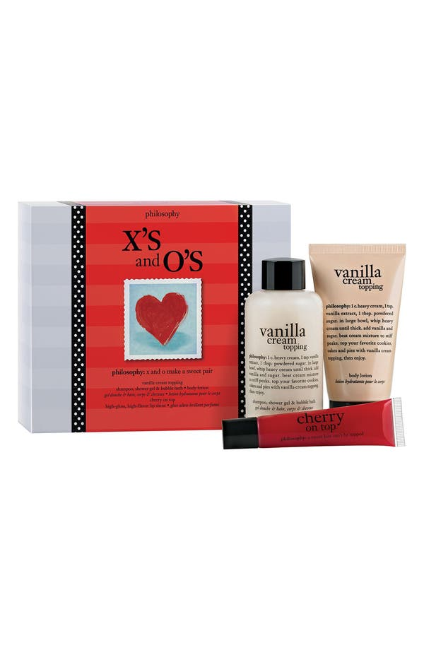 Main Image - philosophy 'x & o' valentine's day gift set