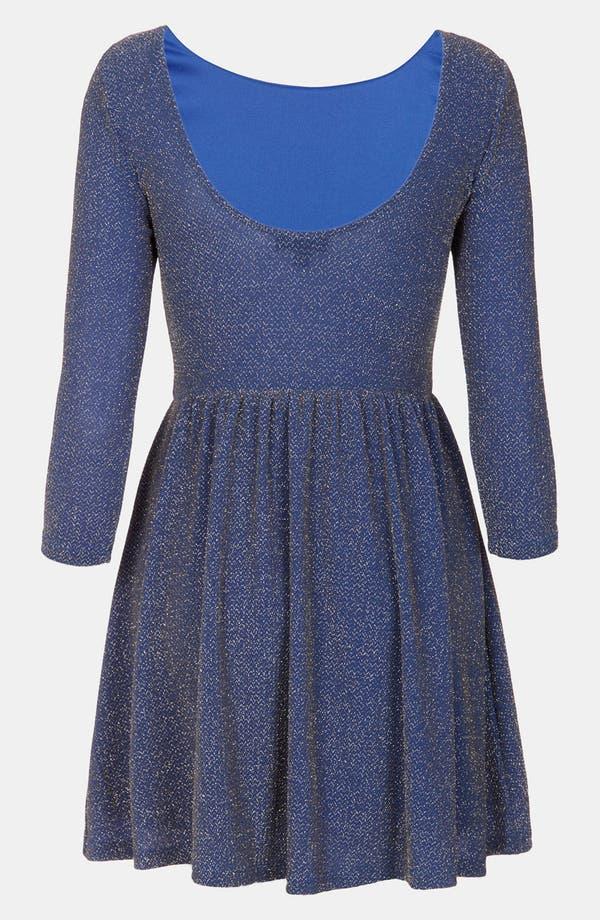 Alternate Image 2  - Topshop Sparkle Skater Dress