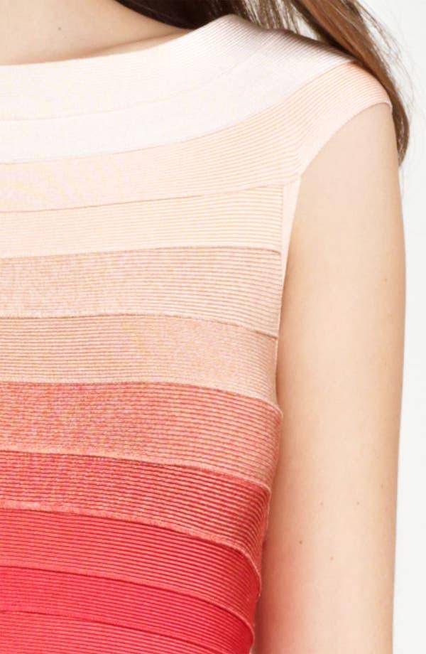 Alternate Image 3  - Herve Leger Ombré Bandage Dress