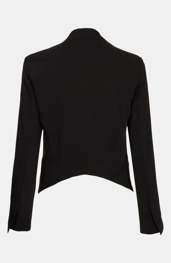 Alternate Image 2  - Topshop Angled Blazer