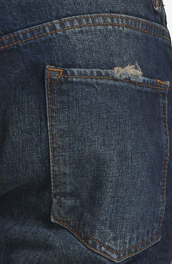 Alternate Image 4  - Topman Slim Fit Jeans (Indigo)