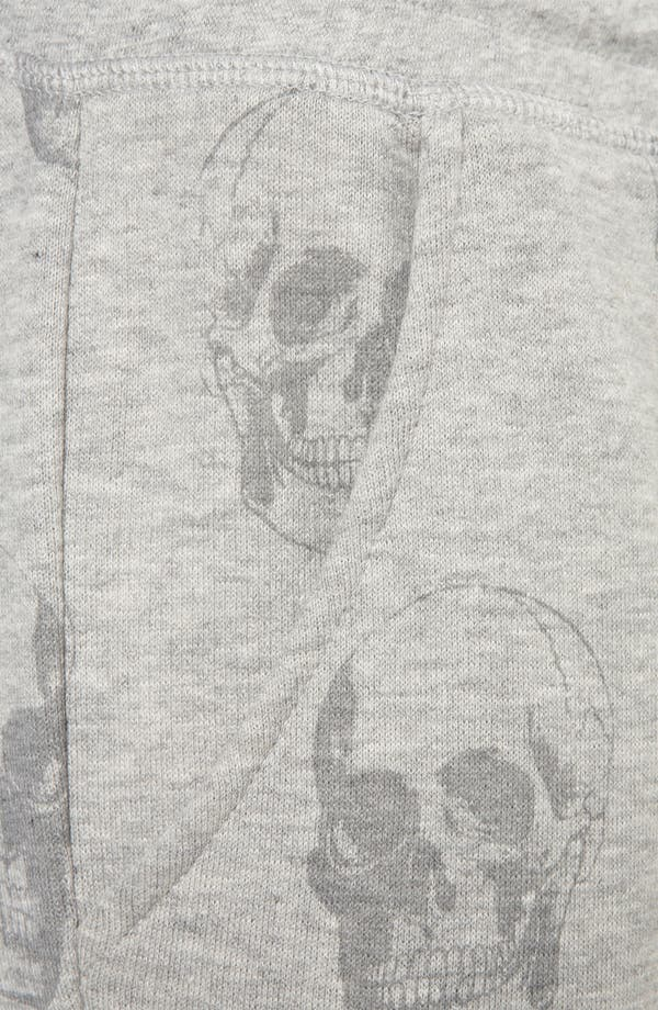 Alternate Image 3  - Topshop Skull Print Tapered Sweatpants