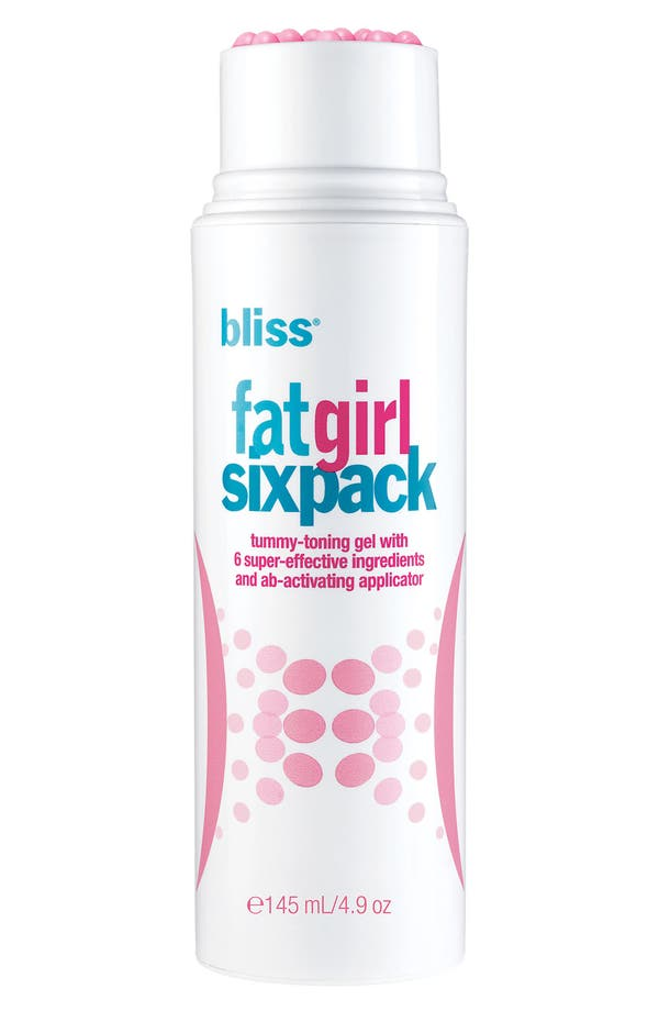 Alternate Image 1 Selected - bliss® 'fatgirlsixpack' Tummy-Toning Gel