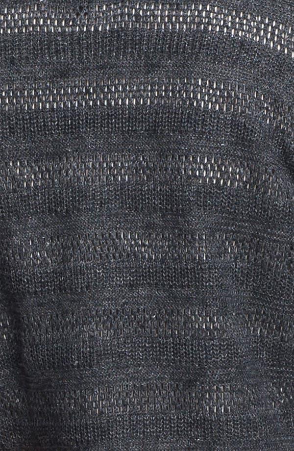 Alternate Image 3  - Lafayette 148 New York 'Honeycomb Stripe' Cardigan