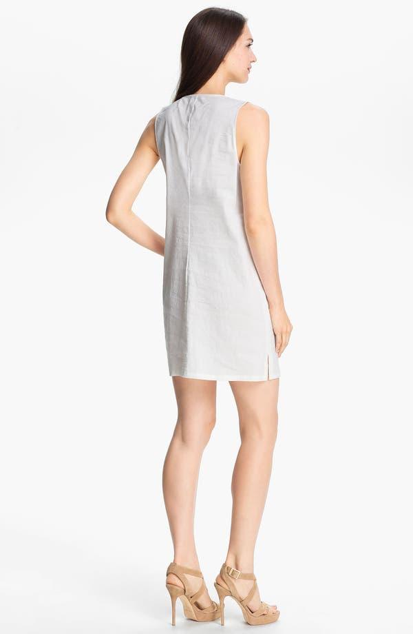 Alternate Image 2  - Theory 'Wandu' Linen Blend Shift Dress