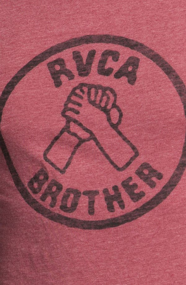 Alternate Image 3  - RVCA 'Brother' T-Shirt