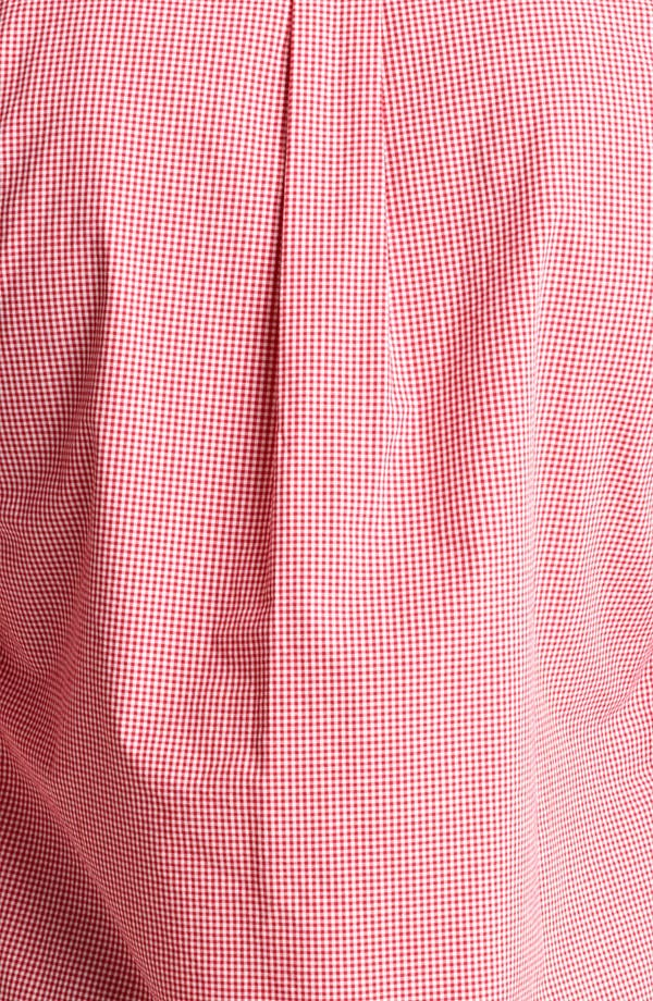 Alternate Image 3  - Todd Snyder Micro Gingham Shirt