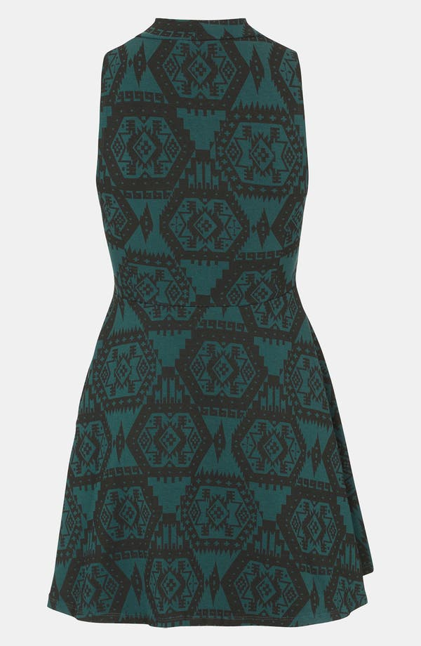 Alternate Image 2  - Topshop Aztec Print Polo Tunic