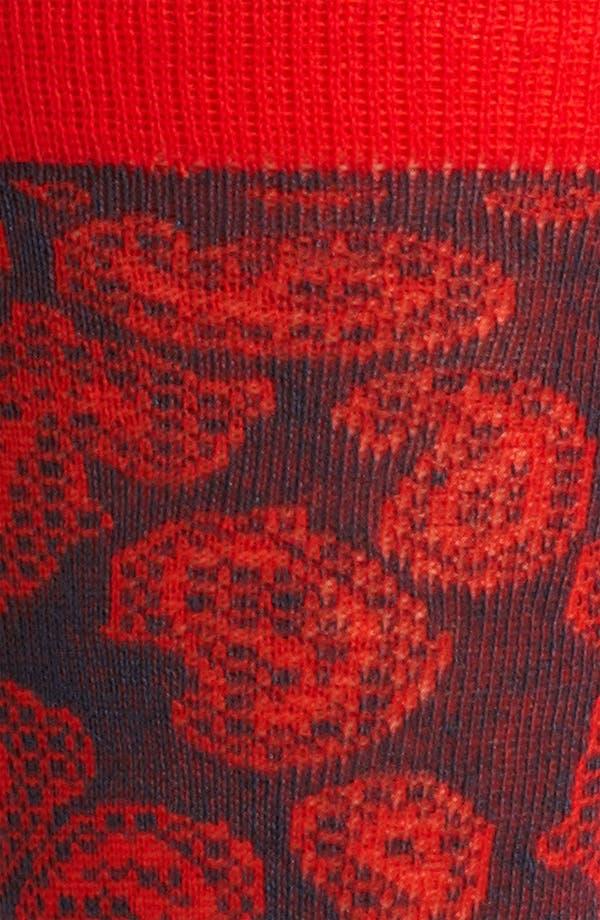 Alternate Image 2  - Etro Paisley Socks
