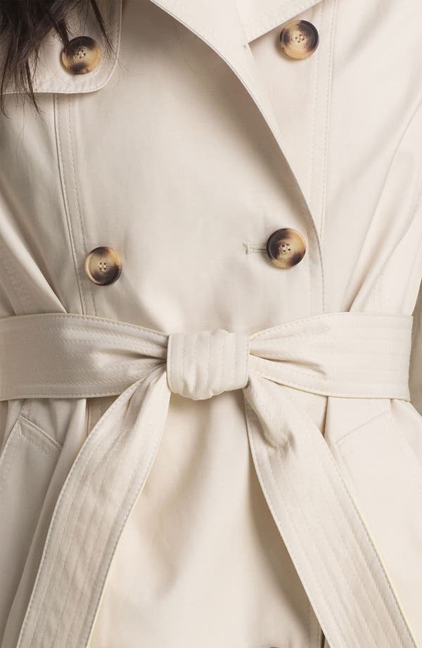 Alternate Image 3  - DKNY Pleat Back Trench Coat