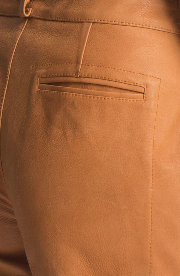 Alternate Image 5  - A.L.C. 'Cash' Leather Shorts