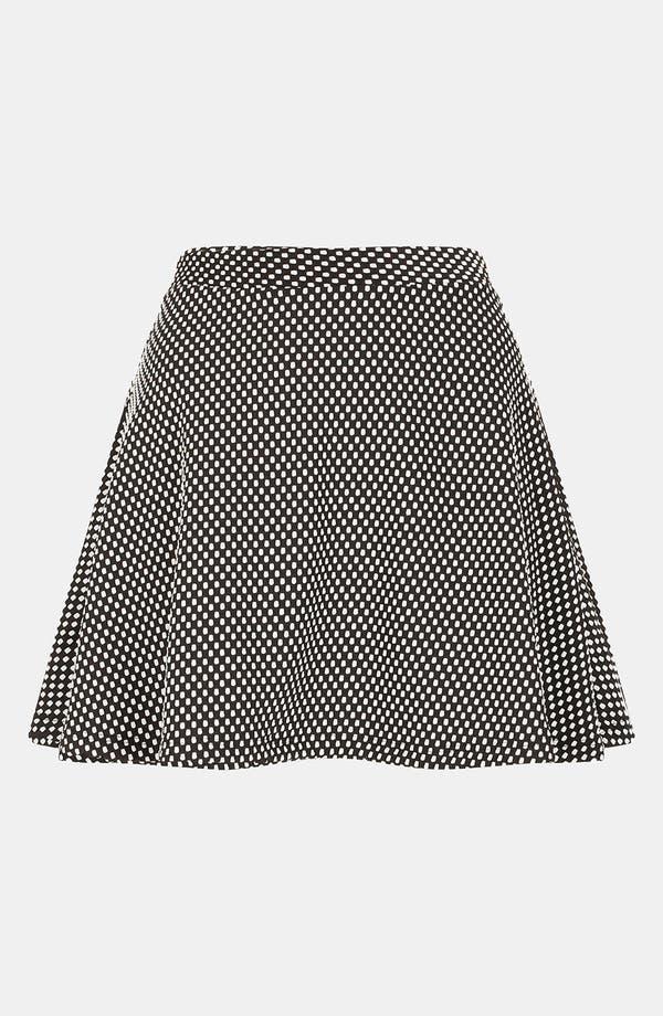 Alternate Image 2  - Topshop Polka Dot Skater Skirt