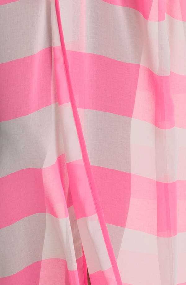 Alternate Image 3  - Ted Baker London 'Neon Stripe' Long Wrap Cover-Up