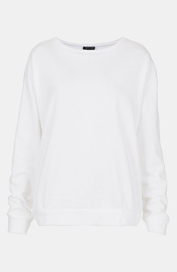 Main Image - Topshop Slouchy Sweatshirt