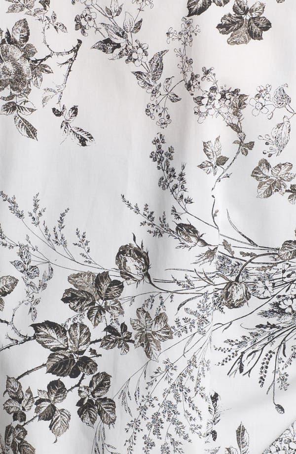 Alternate Image 3  - Foxcroft 'Wild Rose' Print Shirt (Petite)