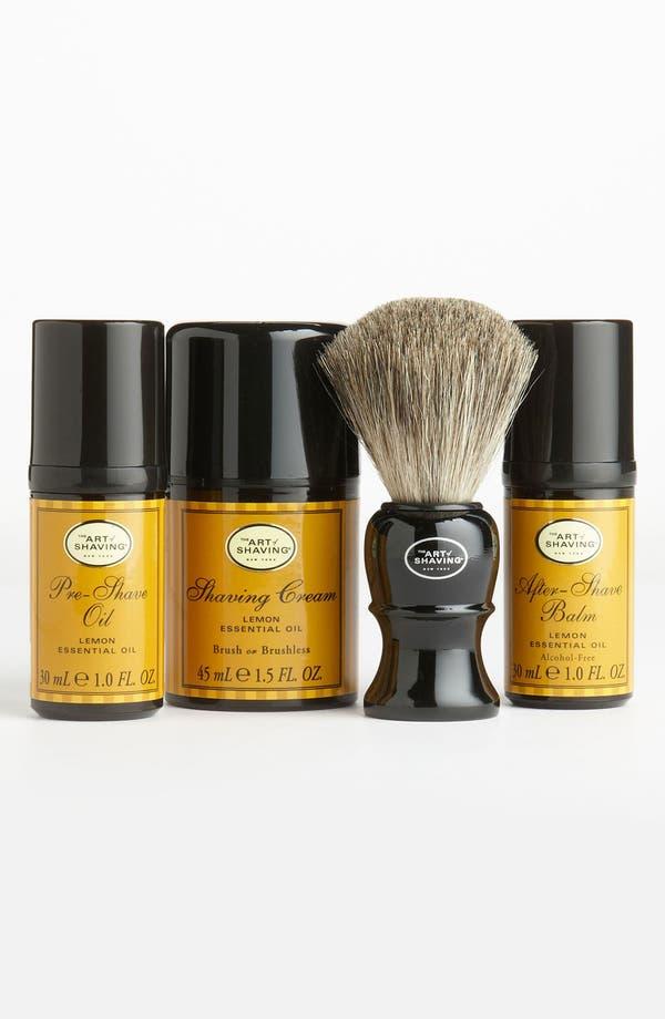 Alternate Image 1 Selected - The Art of Shaving® 'Lemon' Initiation Kit