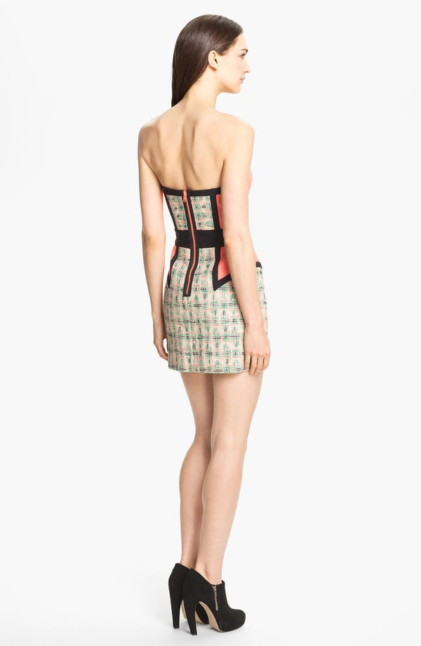 Alternate Image 2  - Milly 'Dianna' Woven Sheath Dress